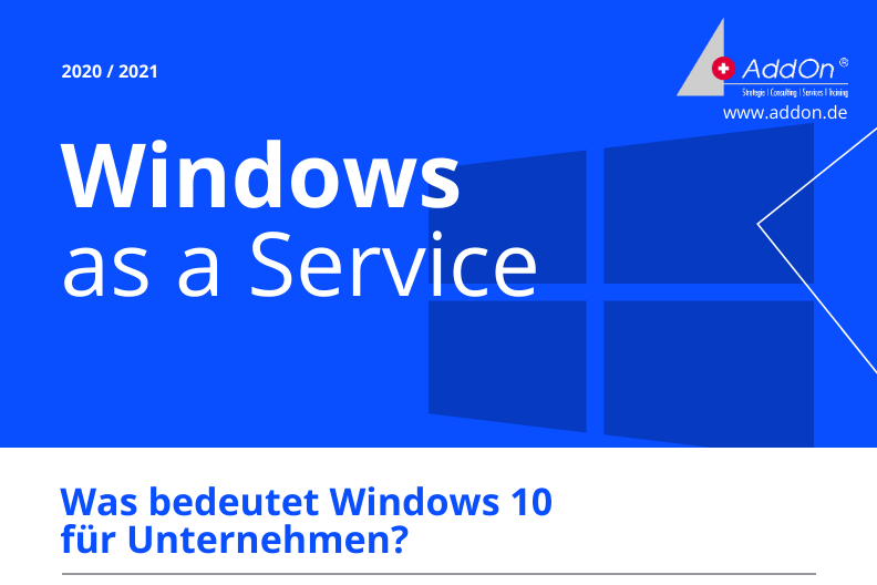 Windows as a Service Infografik