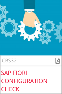 SAP Fiori konfiguration