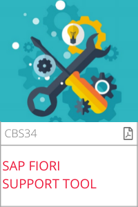 SAP Fiori Support Tool